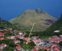 Desa Land in the historical village of Windwardside - Saba Island Premier Properties