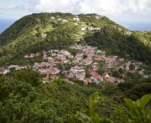 Emerald Swath (View From Property) - Saba Island Premier Properties