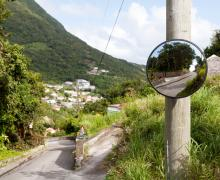 Gladys' Saban Homestead - Entrance to property - Saba Island Premier Properties