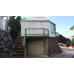 Campbell Residence - Garage with Guest Cottage Above - Saba Island Premier Properties