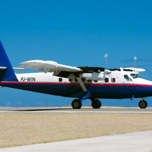 Saba Island by Air