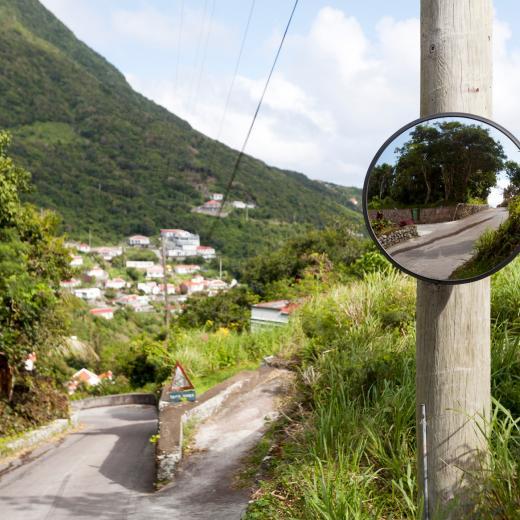 Gladys' Saban Homestead - Entrance to property - Saba Island Premier Properties