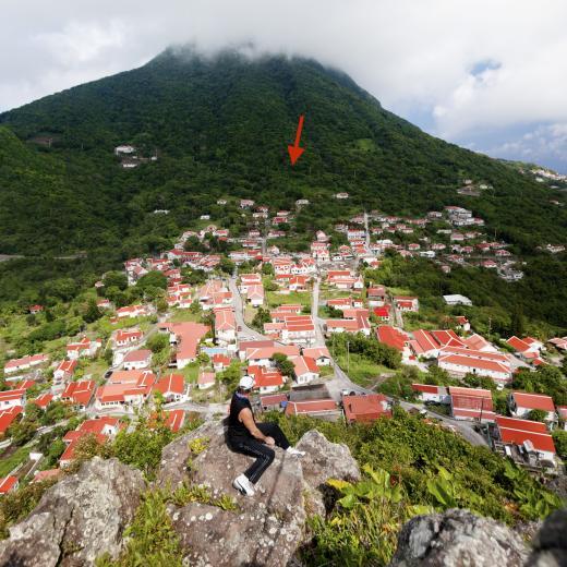 Tropical Garden - Saba Island Premier Properties