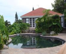 Hummingbird Villa Pool View - Saba Island Premier Properties