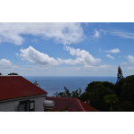 Campbell Residence - Neighboring roof tops and sea view - Saba Island Premier Properties